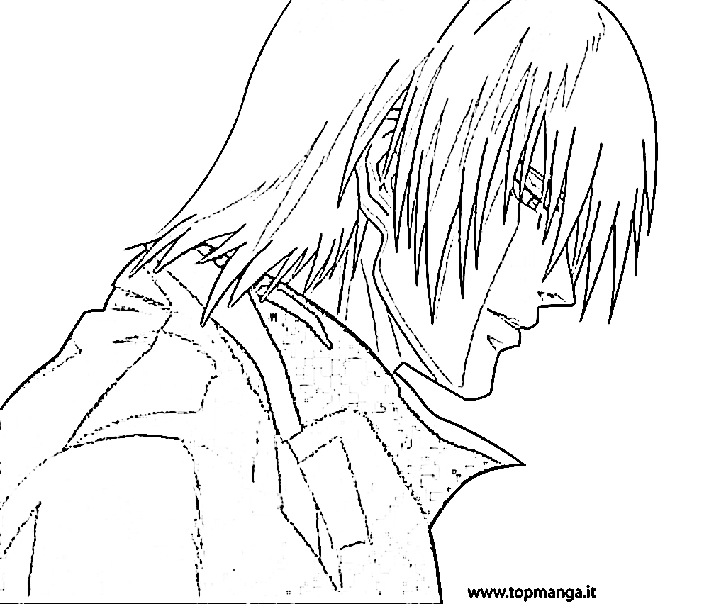 devil may cry coloring pages - photo#10